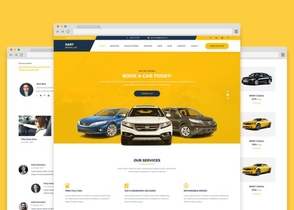 Κατασκευή Ιστοσελίδας Ενοικίασης Αυτοκινήτων