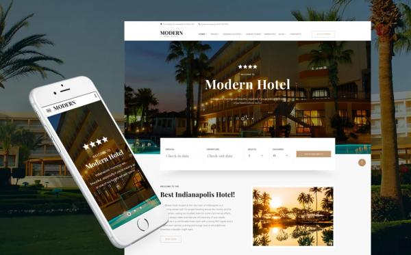 Κατασκευή Ιστοσελίδας για Ξενοδοχεία