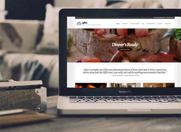 Κατασκευή Ιστοσελίδας Εστιατορίου