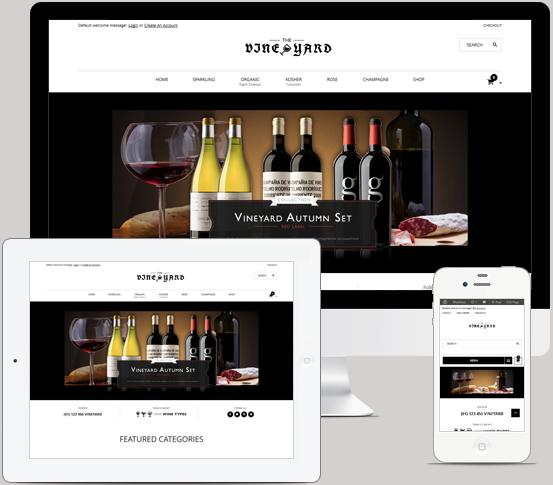 Κατασκευή eShop Κάβας Ποτών - Δημιουργία Online Κάβας